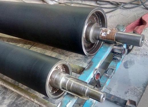 Гуммирование валов на производстве  в Санкт-Петербурге
